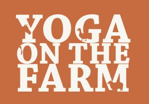 Yoga On The Farm Logo Sky View Farm Event for Robin's Nest Foundation